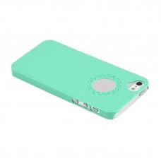 Чехол накладка цвета мяты для iPhone 5 - 5s