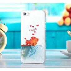 Чехол - накладка любовь для iPhone 4 - 4s