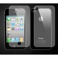 Матовая защитная пленка для iPhone 4 - 4s комплект (перед+зад)