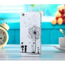 Чехол накладка с одуванчиком для iPhone 4 - 4s