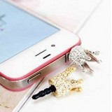 Вставка в разъем наушников корона для iPhone 4 - 4s