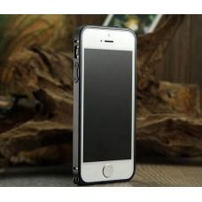 Черный алюминиевый бампер для iPhone 5 - 5s