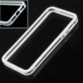 Белый силиконовый бампер для iPhone 5 - 5s