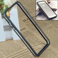 Черный силиконовый бампер для iPhone 5 - 5s