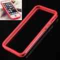 Красный силиконовый бампер для iPhone 5 - 5s