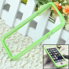 Зеленый силиконовый бампер для iPhone 5 - 5s