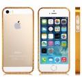 Золотой алюминиевый бампер для iPhone 5 - 5s