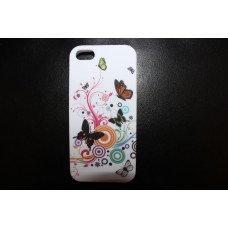 Чехол накладка бабочки для iPhone 5 - 5s