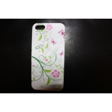 Чехол с нежно - розовыми цветами для iPhone 5 - 5s