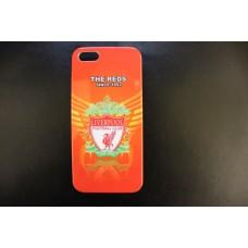Чехол накладка футбольный клуб Liverpool - Ливерпуль - для iPhone 5 - 5s