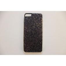 Блестящий черный чехол накладка для iPhone 5 - 5s