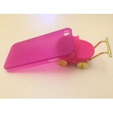 Ультратонкий фиолетовый чехол iPhone 4 4s