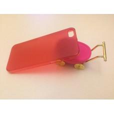 Ультратонкий красный чехол для iPhone 5 - 5s