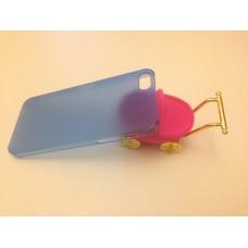 Ультратонкий синий чехол для iPhone 5 - 5s