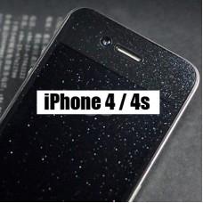 Блестящая защитная пленка Diamond для iPhone 4 - 4s на экран