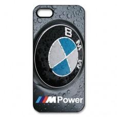 Чехол накладка BMW - бмв - Mpower iPhone 5 - 5s