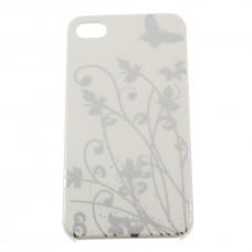 Чехол - накладка с бабочкой для iPhone 4 - 4s