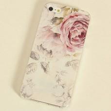 Чехол накладка с цветком для iPhone 4 - 4s