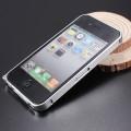 Алюминиевый бампер для iPhone 4 - 4s ультратонкий серебристый