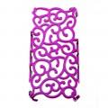 Розовый чехол плетенка для iPhone 5 - 5s