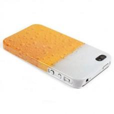 Чехол накладка в виде пива для iPhone 4 - 4s