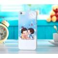 Чехол накладка Love Is для iPhone 4 - 4s