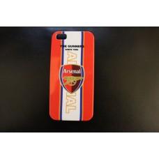 Чехол накладка футбольный клуб Arsenal для iPhone 5 - 5s