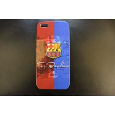 Чехол накладка футбольный клуб Barcelona - Барселона - для iPhone 5 - 5s
