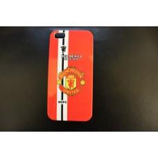 Чехол накладка футбольный клуб Manchester - United - Манчестер - Юнайтед - для iPhone 5 - 5s