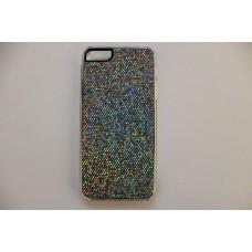 Блестящий серый чехол накладка для iPhone 5 - 5s