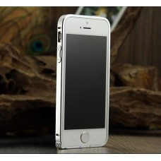 Шампаниевый алюминиевый бампер для iPhone 5 - 5s